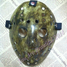 50pcs/lot Black Friday NO.13 Jason Voorhees Freddy hockey festival party Mask 100gram PVC For Halloween 50pcs/lot