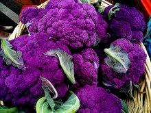 200 PURPLE CAULIFLOWER SEEDS * NICE TASTY CAPE BROCCOLI * LOW IN FAT, BUT HIGH IN FIBER,  VITAMIN C,Vegetable Seed For Sowing