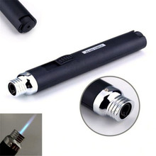New Portable Outdoor Jet Flame Butane Gas Refill Lighter Welding Torch Pen T0.16