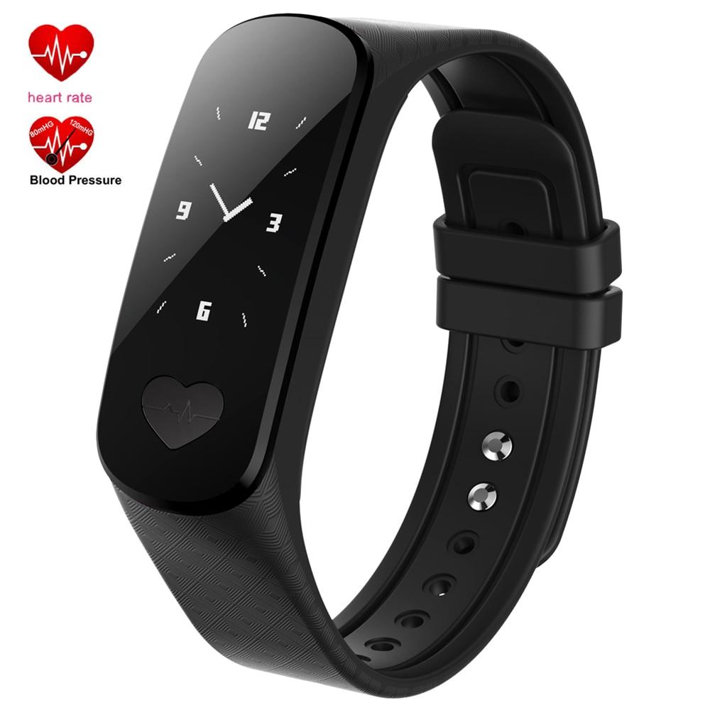 Smart Bracelet B9 ECG + PPG Health Wrist Band Heart Rate Blood Pressure Monitor Sport Pedometer Fitness Tracker for Men Women<br>