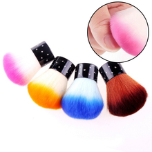 Nail Brush For Acrylic & UV Gel Nail Art Dust Cleaner nail dust brushes For Nail Gel Polish