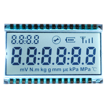 GDC0689 TN 6 Bit LCD Display Module 42*25*2.8mm Metal Pin Connection 3V LCD Screen Digit Clock