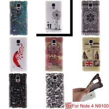 Cheap Ultra Thin TPU Silicone Soft Phone Cell Mobile Case Cover Bag Cove For Samsung Sumsang Samsug Galaxy Note 4 N910C