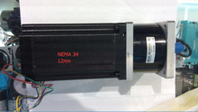 A NEMA 34 stepper motor 86HS120 install with A planetary speed reducer Ratio 1:10 makeup a gear motor can output 120NM