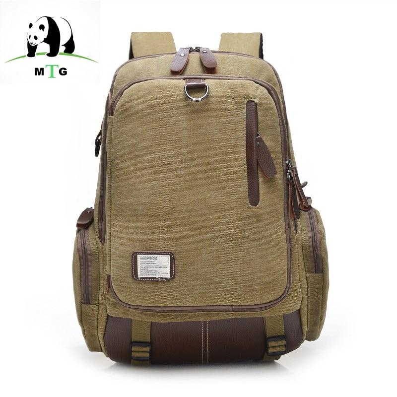 MTG Backpack Canvas Bag Mens Leisure Travel Bag Vintage Preppy Style Backpack School Men Laptop Backpacks Teenage Girl backpack<br>