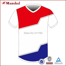 custom soccer jersey ,sublimation print any pattern color name with Blank football jerseys grade ori, thailand football shirts(China)