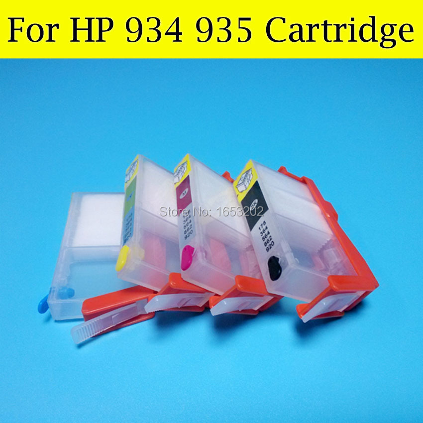 10 Set/Lot 934 935 Ink Cartridge For HP Officejet Pro 1610AR 6830 6835 6230 6815 6812 Tinta With HP934 HP935 Ink Cartridge<br><br>Aliexpress