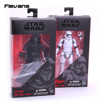 Star Wars 7 The Force Awakens The Black Series Kylo Ren Stormtrooper PVC Action Figure Collectible Model Toy 16cm