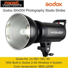 Godox SK400 II 400W 400WS GN65 Professional Studio Flash Light Strobe Lighting with Built-in Godox 2.4G Wireless X System(China)