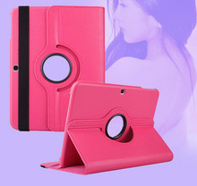 Tianfour 360 Degree Swivel Rotating Smart Case For Samsung Galaxy Tab 3 10.1 Inch P5200 P5210 P5220 Stand Cover Tablet cases