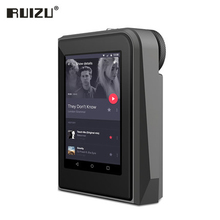 2017 Original RUIZU A50 HD Lossless Mini Sport MP3 Player With 2.5 Inch Screen Hifi MP3 Music Player Support 128G TF Card/DSD25(China)