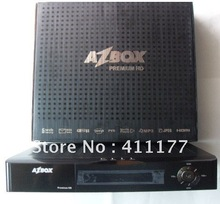 Free dhl shipping  Azbox Premium HD  satellite receiver internet sharing cccam