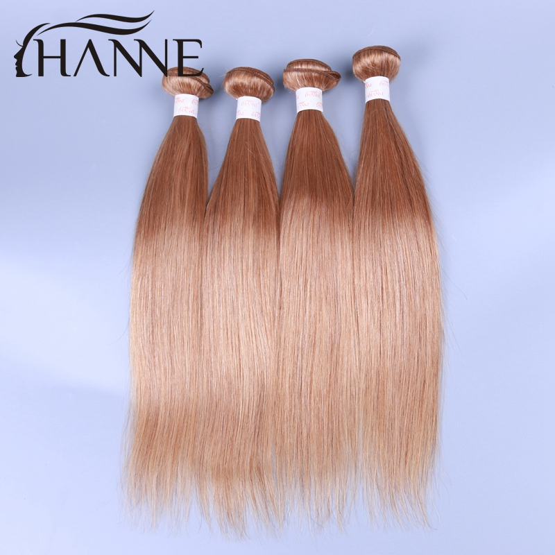 Malaysian hair bundles #27/30 Blonde Straight Virgin Hair 4 Bundles 7A Honey Blonde Brazilian Hair 100% Human Hair weave<br><br>Aliexpress