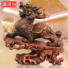 2016 Real Rushed Home Decoration Accessories Resin Crafts Rich Evil Brave Shop Opened Office Wooden