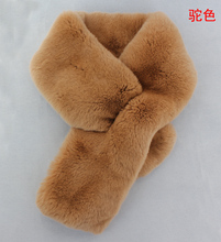 Imports of seamless warm scarf Rex rabbit fur scarf fur scarves double-sided female Korean fur scarves on sale