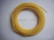 10 METERS 2mm Slingshot special rubber band, ,Essential supplies for the rubber band group,maybe will have 1-3 joints(China)
