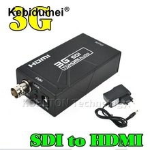 SD-SDI HD-SDI 3G SDI to HDMI Adapter Audio Video Converter 2.970/1.485Gbit/s 270Mbits/s with 5V 1A power supply or DC USB Cable(China)