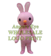 pink bunny mascot costume easter rabbit custom adult size cartoon character cosplay carnival costume SW3360