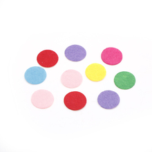 10pcs 25mm Felt Fabric Crafting Handicraft DIY Appliques Clothing Sewing round Scrapbooking DIY
