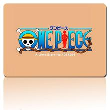 one piece mouse pad the Straw hat pirates LOGO mousepad laptop anime mouse pad gear notbook computer gaming mouse pad gamer(China)