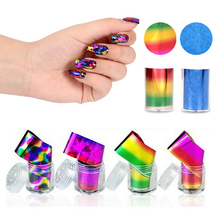 Nail Art Sticker Rainbow Stars Colorful Element Nail Wraps Adhesive Decals Manicure Decor Decals Styling Tools Z3