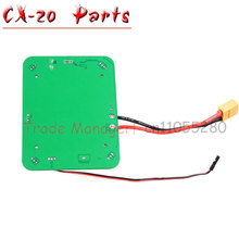 Free Shipping Cheerson CX-20 RC Quadcopter Parts Power board PCB box Prop for CX-20 rc Helicopters from Manufacturer(China)