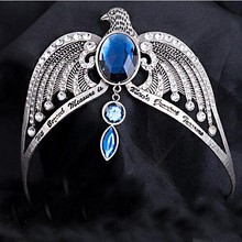 Kefeng Brand Women Fashion Necklace Crown Of Ravenclaw Horcrux Magic School Noble Crown Queen Necklace Restoring Ancient Way(China)
