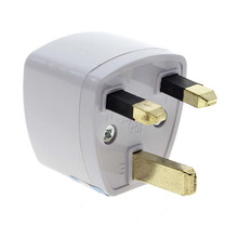 Travel to UK England Great Britain Plug Power Adapter Converter from EU US AU(China)