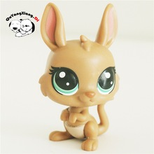 CW055 Pet Shop Animal Yellowish rabbit doll action Figure(China)