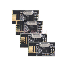 4pcs/NRF24L01+ wireless module power strengthen edition NRF24L01 2.4GHz wireless communication module