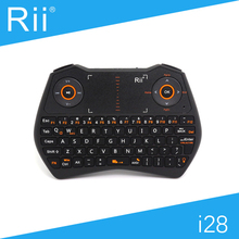 [Free Shipping] Original Rii i28 2.4G Wireless Mini Keyboard/Air Mouse for Android TV Box/Smart TV High Quality with Backlight