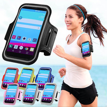 Running Sport Gym Armband Bag Case For LG G Flex 2/C90/C70/ Nexus 4/Nexus 5 /L90 /K8 Waterproof Arm Band Mobile Phone Belt Cover(China)