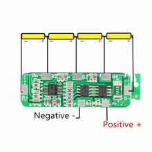 New Arrival 1PC 4A-5A PCB BMS Protection Board For 4 Packs 18650 Li-ion lithium Battery Celll Module