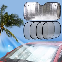 CITALL 5pcs Foldable Car Front Rear Windshield + Side Window Sunshade For Mercedes Audi Toyota Camry VW Kia Sportage BMW E39 Kia(China)