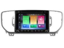 Android 6.0 CAR Audio DVD player FOR KIA SPORTAGE 2016 gps Multimedia head device unit receiver BT WIFI