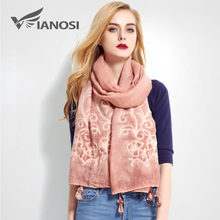 [VIANOSI] Fashion Bandana Luxury Cachecol Brand Cotton Scarf Women Shawl High Quality Stitch Scarf Shawl VR013(China)