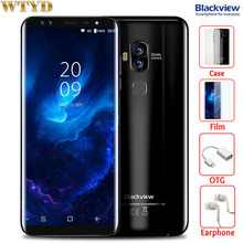 Blackview S8 4GB+64GB Dual Back Cameras + Dual Front Cameras Fingerprint Identification 5.7'' Android 7.0 MTK6750T Octa Core 4G(China)