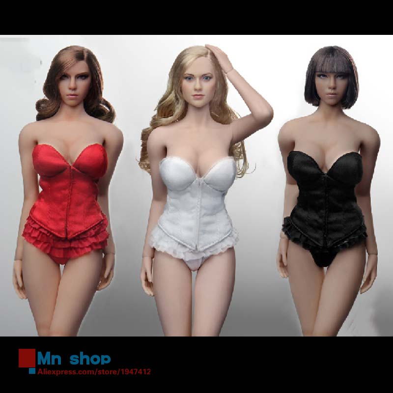 Flirty Girl 1/6 Scale Sexy Female Soldier Clothes Corset Lingerie Set for 12 Action Figure Doll Toys Accessories In Stock<br><br>Aliexpress