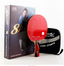 double fish 8A-C 7A-C Table tennis rackets . 8 STARS . finished product Table tennis racquet(China)