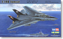 "Hobby Boss 1/48 scale aircraft models 80367 F-14B ""Tomcat"" carrier-based fighter *"