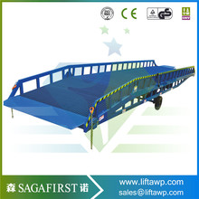 Hydraulic Electric Heavy Duty Car Loading Dock Ramps For Sale(China)