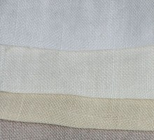 M-290 Full color 100% linen light pure linen fabric 138 cm 54'' width 132 gsm sewing fabric 20 meters small  wholesale