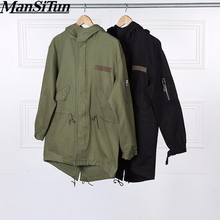 Man Si Tun Newest Mens Jacket Coats Clothing Korean Men Winter Clothes Militaire Fall Long Army Military M51 Jacket Windbreaker(China)