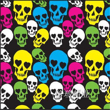 2016 new high-quality unisex hip-hop fashion skull print scarf scarves free shipping Halloween gift 55-55CM