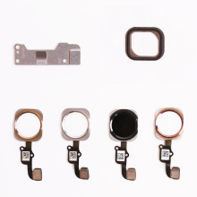 1Pcs NEW Touch Sensor Home Button Key Flex Cable Replacement for iPhone 6S & Plus Gold/Black/Silver/Rose Gold