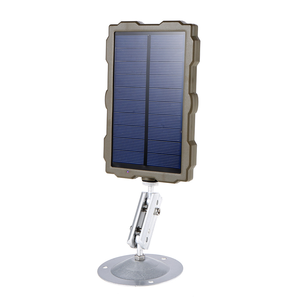 Outdoor Hunting Camera Battery Solar Panel Power Charger External Panel Power for Wild Camera Photo-traps H801 H885 H9 H3 H501 (12)