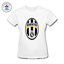 2017 Best Gift For Friend Juventus Funny Cotton T Shirt for women