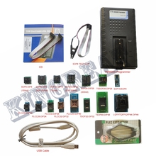 2017 New TNM5000 USB Atmel EPROM Programmer+15pc adapters+IC Clip for NAND flash/EPROM/MCU/PLD/FPGA/ISP/JTAG,memory recorder