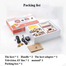New TV Video Game Console FCompact Classic Family TV Game Player jeux juegos Send With Retail Box Free Shipping