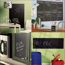 45x200cm Chalk Board Blackboard Stickers Removable Vinyl Draw Decor Decals Art Chalkboard Wall Sticker for Kids DIY PC871243